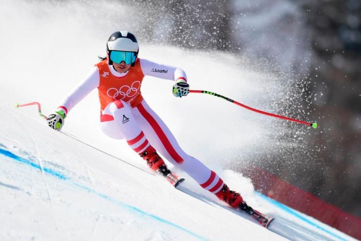 Austria's Stephanie Venier