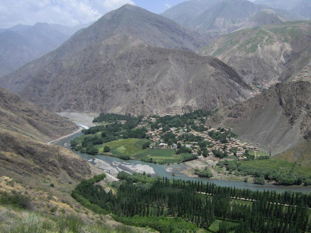Reforestation in the Afghan Badakhshan province to help absorb greenhouse gases and provide protection against flash floods