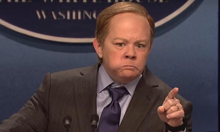 Melissa McCarthy as Sean Spicer