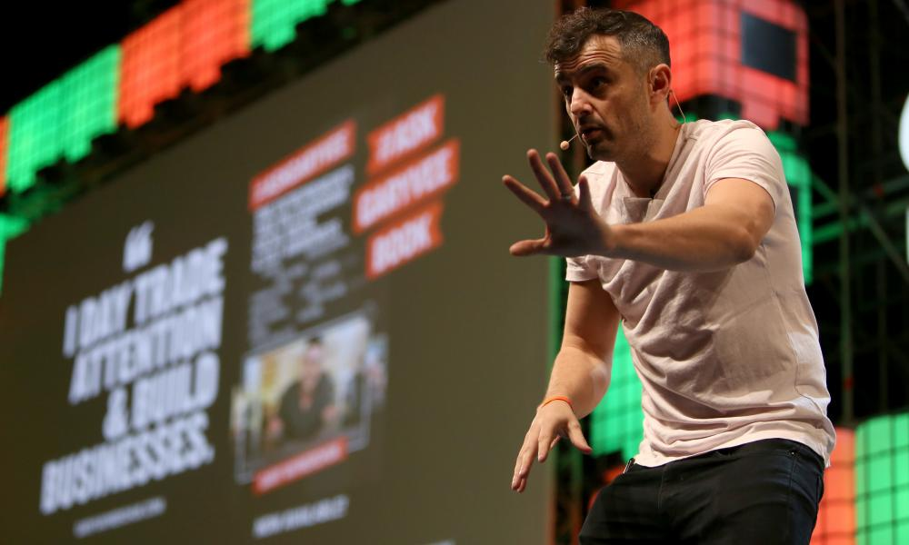 Gary Vaynerchuk at web summit Lisbon