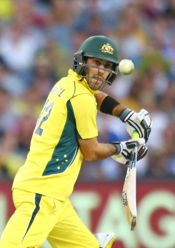 Glenn Maxwell has been at his inventive best early in his innings at the MCG.