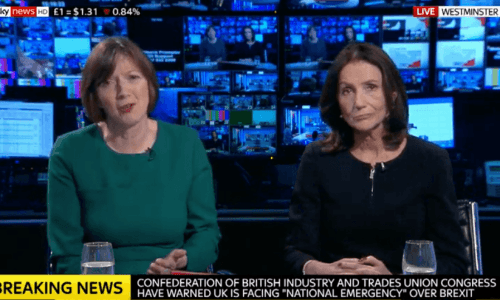 Frances O'Grady (left) and Carolyn Fairbairn