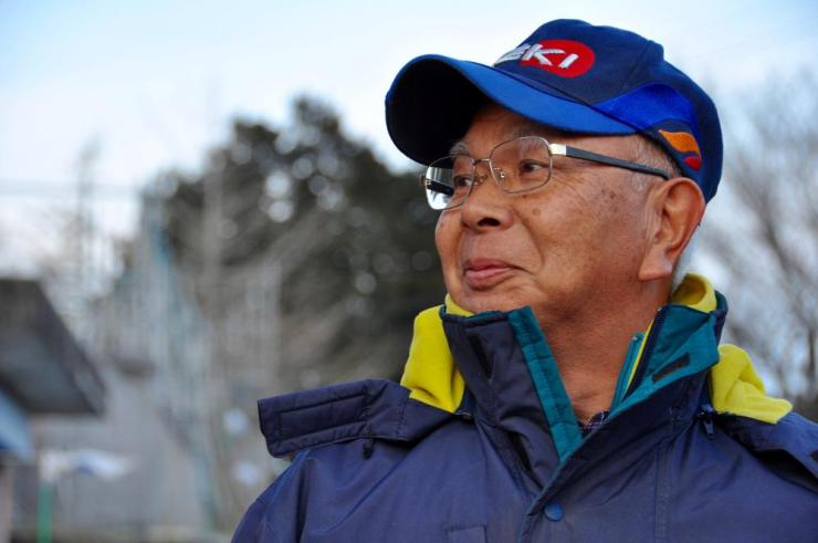 Tsunemitsu Yokoyama, 65, and other town hall retirees formed the 'Old Man Squad' to patrol the evacuated Okuma town and give homeowners peace of mind.