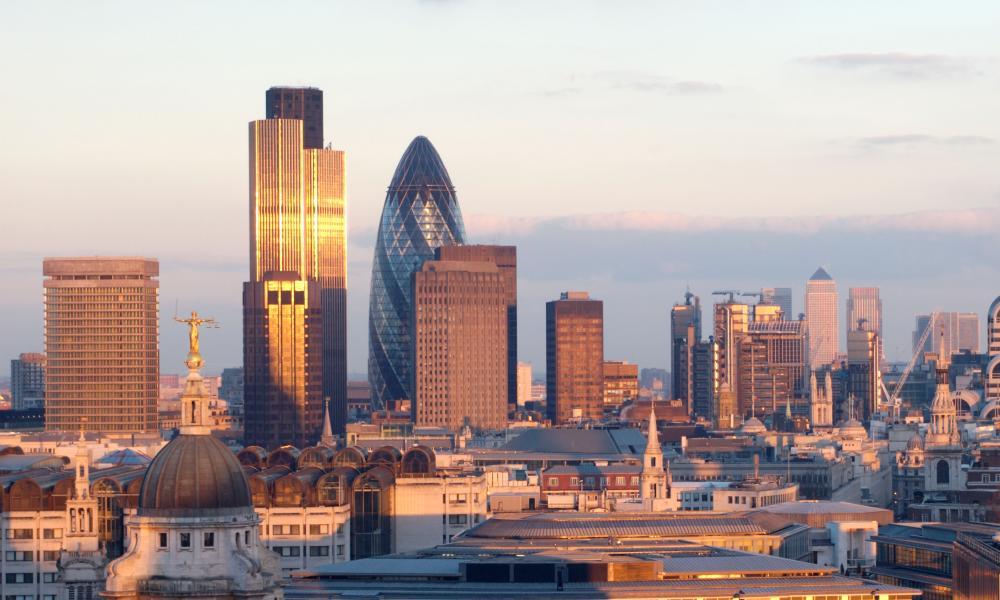 City of London Skyline<br>A2MT34 City of London Skyline