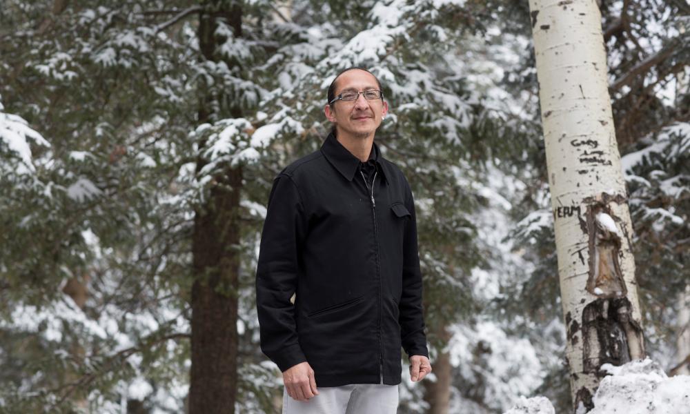 Ed Kabotie, a member of the Hopi tribe.