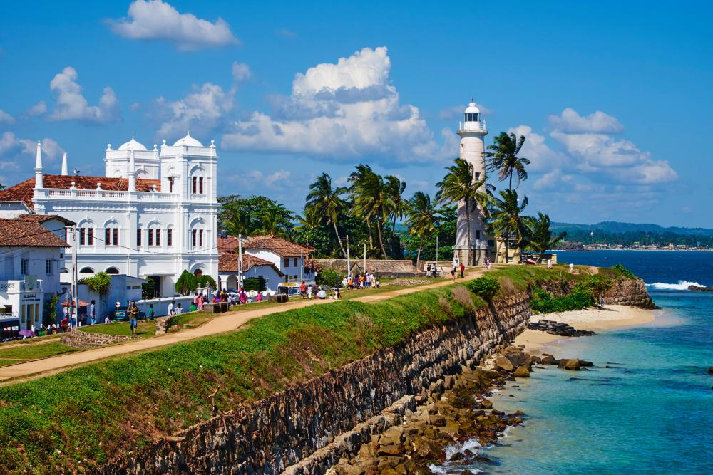 Galle old town and lighthouse
