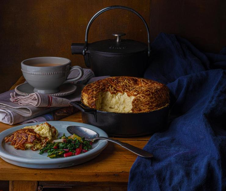Anaïs Nin's cheese souffle, by Claire Ptak. Food styling: Henrietta Clancy