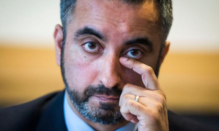 """Aamer Anwar receives death threatsFile photo dated 31/2/2016 of prominent human-rights lawyer Aamer Anwar who aid he has received death threats after calling for unity within Scotland's Muslim community. PRESS ASSOCIATION Photo. Issue date: Sunday April 3, 2016. Anwar said he was taking the threats from """"fanatics"""" extremely seriously and had contacted police, who were investigating. See PA story POLICE Anwar. Photo credit should read: Danny Lawson/PA Wire"""
