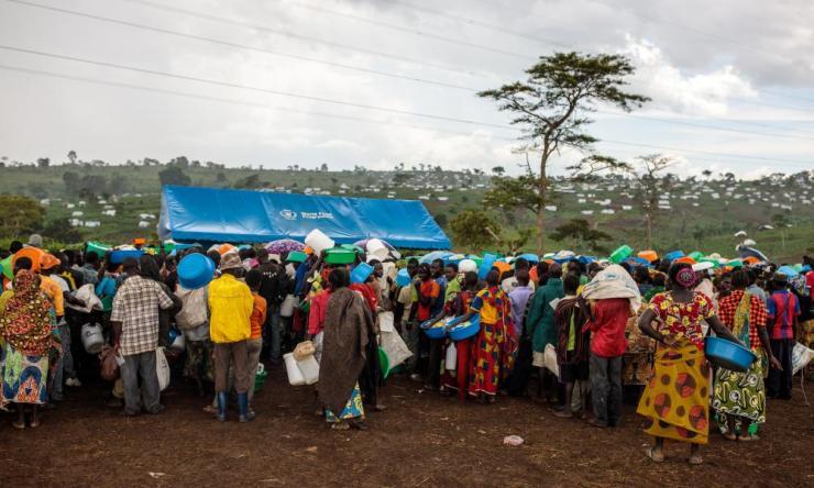 Kyangwali refugee centre in Uganda