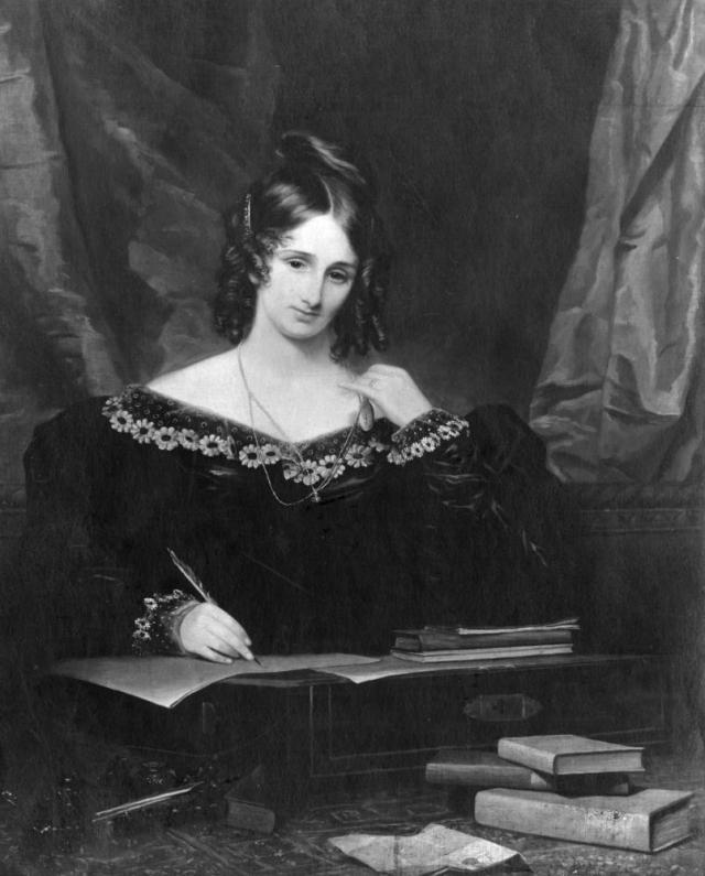 Mary Shelley … precocious child, celebrated writer, anguished mother and wife.