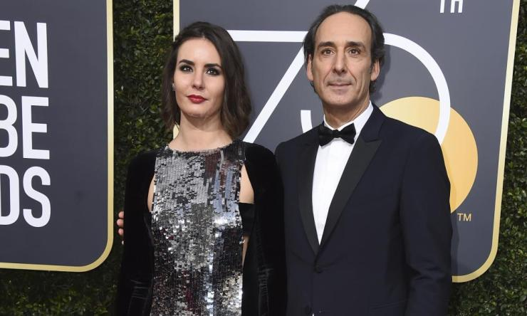 Antonia Desplat and Alexandre Desplat.