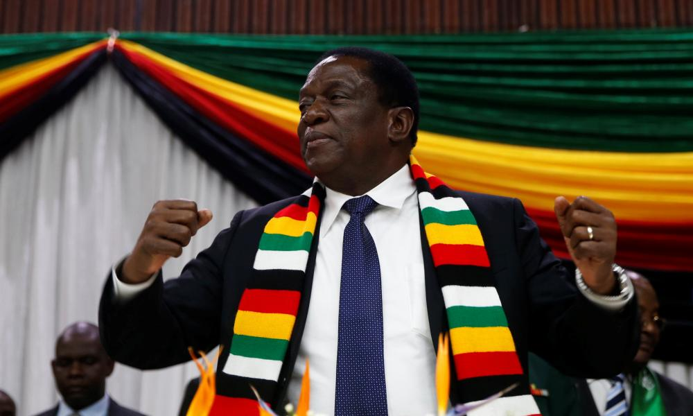 President Emmerson Mnangagwa announces the date for the general elections