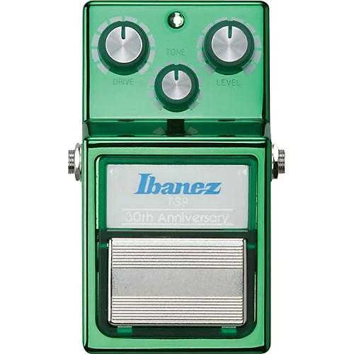 Ibanez 30th Anniversary Ts9 Tube Screamer Overdrive Guitar