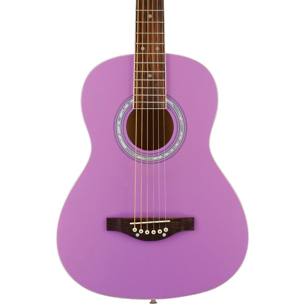 Daisy Rock Debutante Junior Miss Short Scale Acoustic Guitar Popsicle Purple