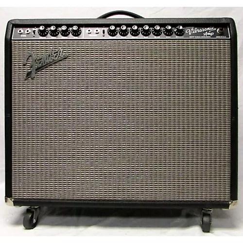 Used Fender Custom Vibrasonic Tube Guitar Combo Amp