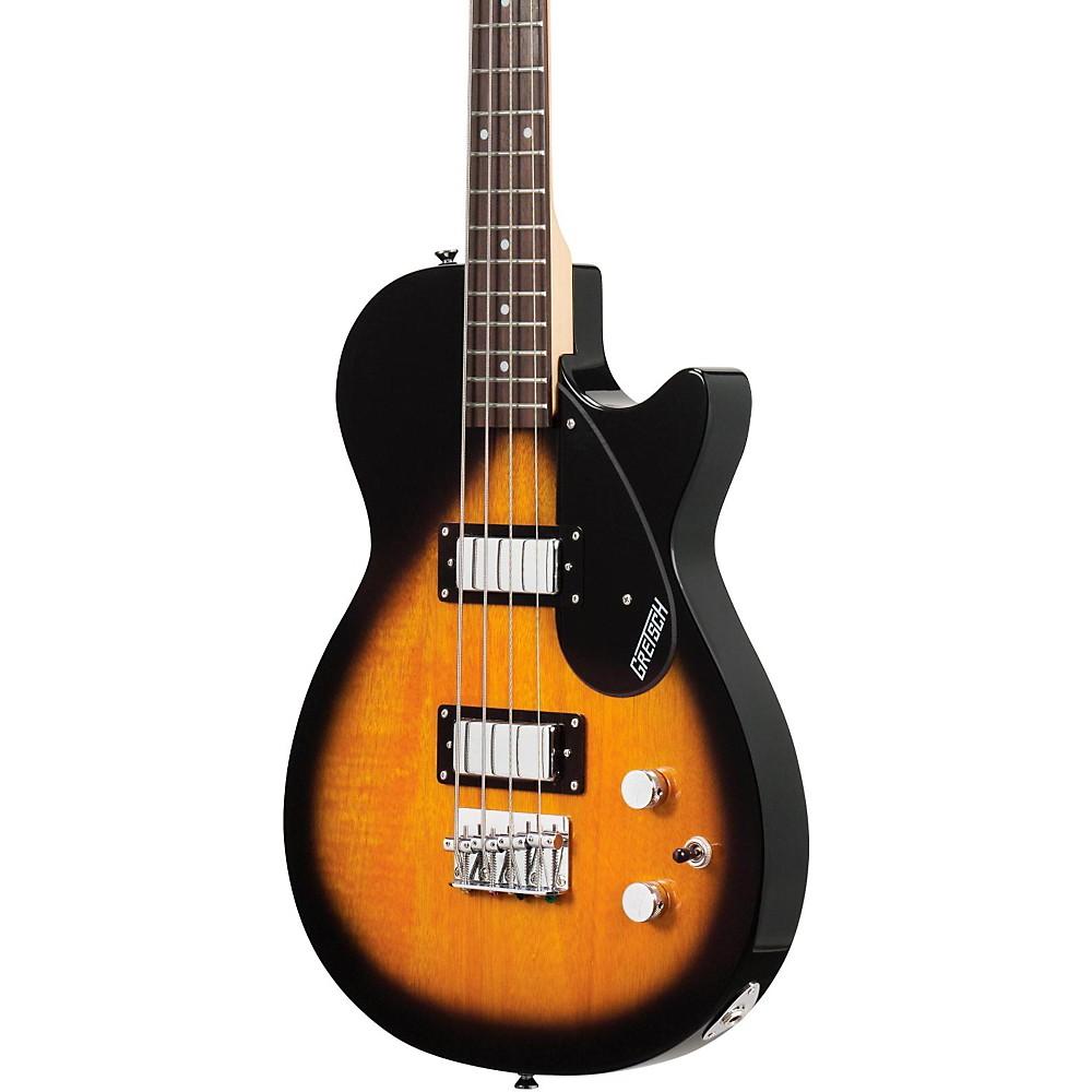 Gretsch Guitars G2220 Electromatic Junior Jet II Electric Bass Guitar Tobacco Sunburst