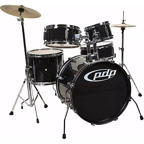 PDP by DW Player 5 Piece Junior Drum Set with Cymbals and Throne     PDP by DW Player 5 Piece Junior Drum Set with Cymbals and Throne