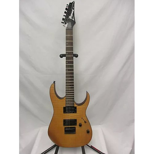 Used Ibanez Rg Fm Solid Body Electric Guitar Natural