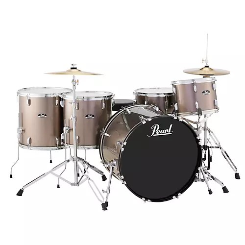 Pearl Roadshow 5 Piece Rock Drum Set   Guitar Center Pearl Roadshow 5 Piece Rock Drum Set