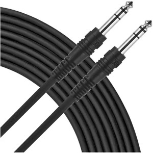 Livewire TRSTRS Balanced Patch Cable 15 ft | Guitar Center