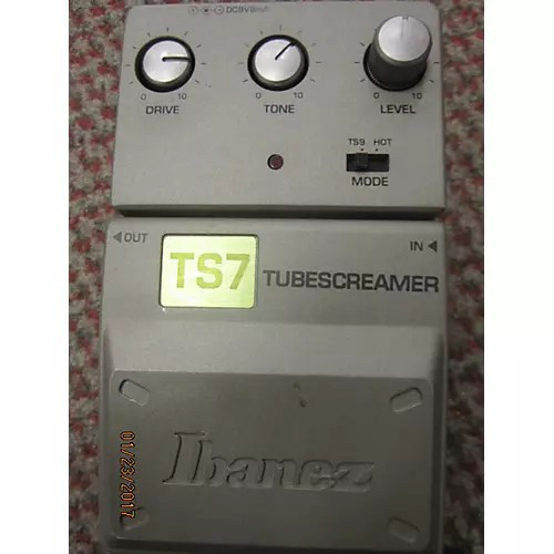 Used Ibanez Ts7 Effect Pedal