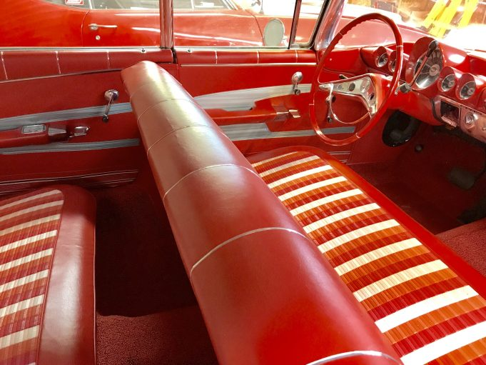 1959 Chevrolet Impala interior restored