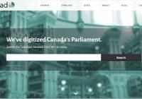 صورتجلسات ۱۵۰ سالهٔ مجلس عوام کانادا بهصورت دیجیتال و آنلاین در دسترس عموم قرار گرفت