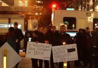 گرامیداشتِ جانباختگان حادثهٔ ساختمان پلاسکو در ونکوور