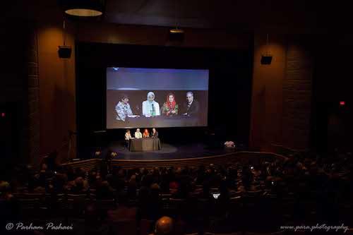 استقبال گرم ایرانیان ونکوور از فاطمه معتمد آریا و اولین اکران فیلم «آباجان» در کانادا