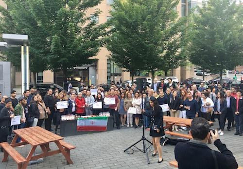 گردهمایی در ونکوور به احترام جانباختگان و همدردی با بازماندگان دو حملهٔ تروریستی به تهران