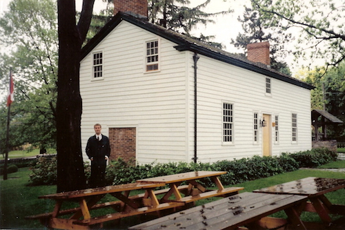 خانهٔ لارا سکرد در کوئینزتون هایتس که اکنون تبدیل به موزه شده است