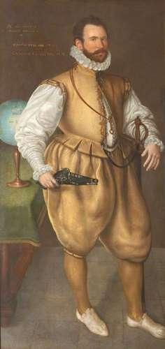 نقاشی از سرمارتین فروبیشر توسط کورنلیس کتل در سال ۱۵۷۷