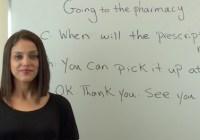 اصطلاحات مربوط به گرفتن دارو از داروخانه