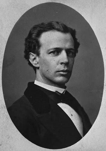 لوریه در سال ۱۸۶۹