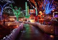 راهنمای بازدید بیش از ۱۰ فضای زیبای نمایش نور کریسمس در سطح شهر ونکوور