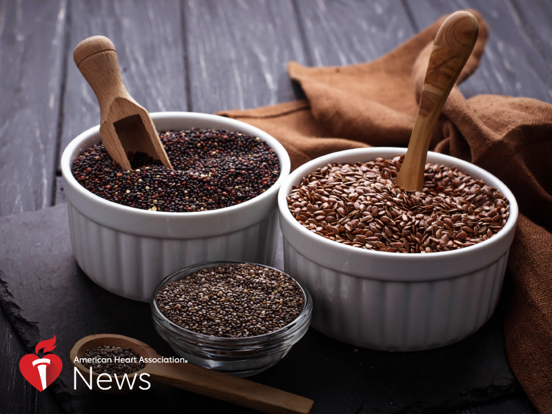 News Picture: AHA News: Know the Flax: A Little Seed May Be What Your Diet Needs
