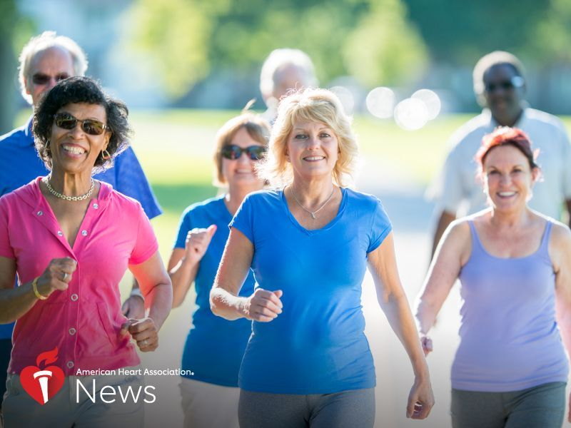 News Picture: AHA News: Protein Made During Long Workouts May Warn of Heart Problems