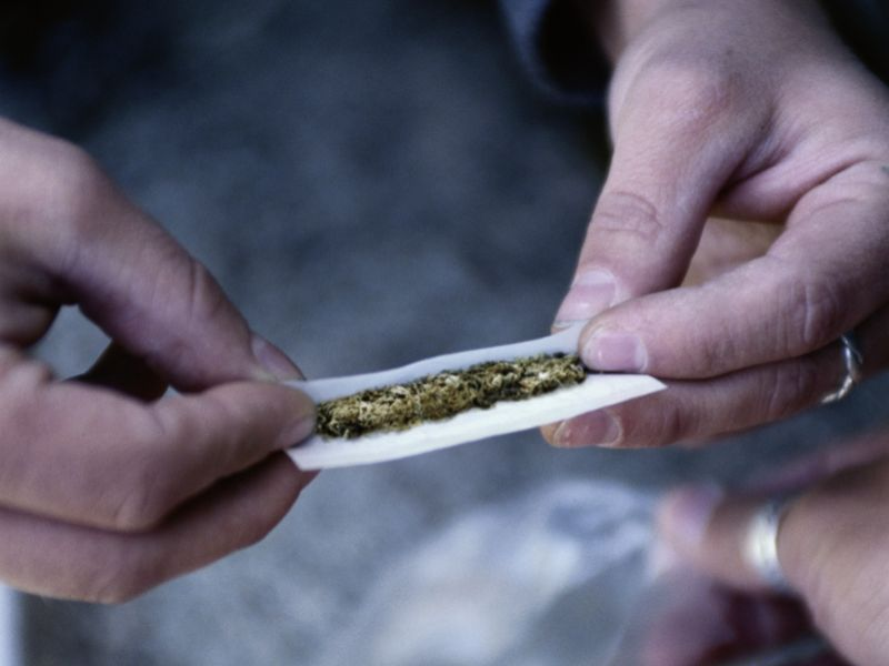 News Picture: Is Pot Linked to Blood Pressure Deaths?