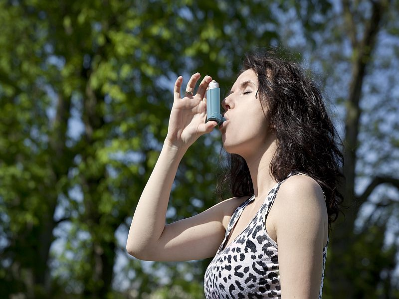 News Picture: Summer Is Tough for Asthma Sufferers