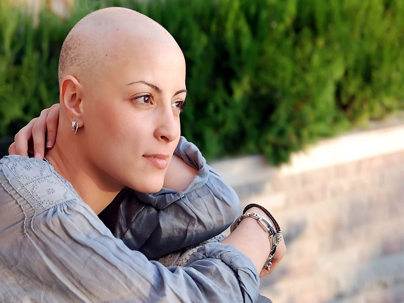 woman who had chemotherapy