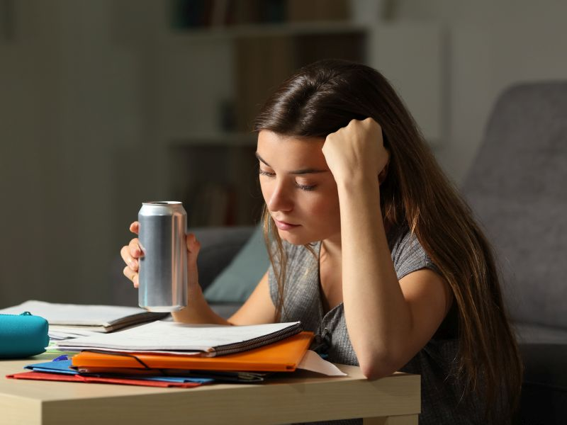 News Picture: Young Adults Flocking to Energy Drinks