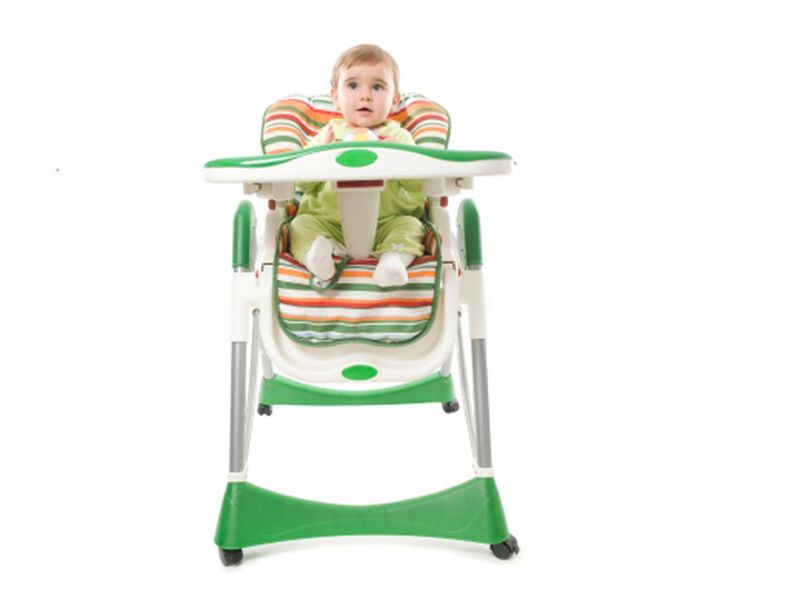 News Picture: Keep Your Child Safe in Her High Chair