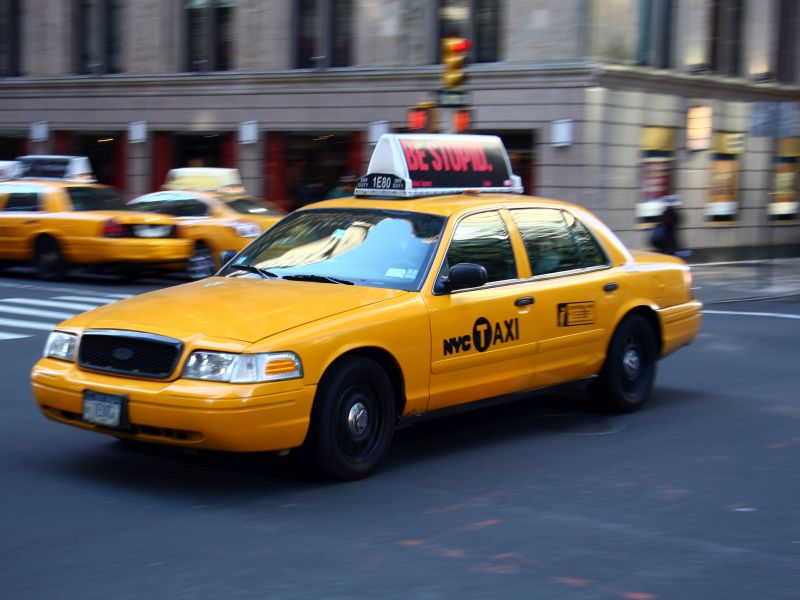 News Picture: Breathe Easier, New York City: Clean-Air Taxi Rules Are Working