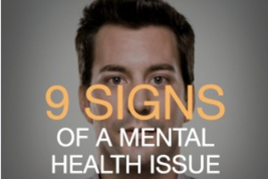 9 signs of a mental health issue