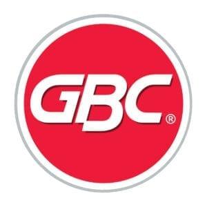 GBC Logo kvalitativ kontorsutrustning