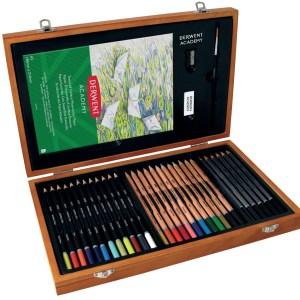 Derwent Academy Wooden GiftBox