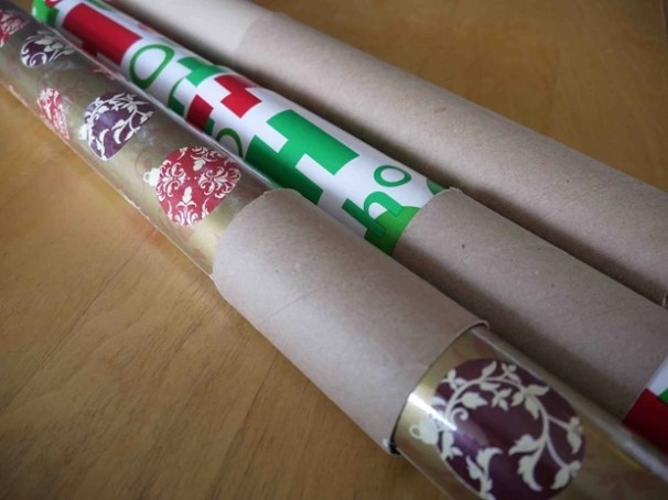 Paper Towel Roll = Wrapping Paper Binder-2