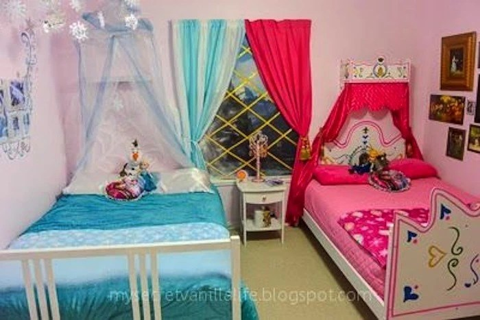 10 'frozen'-themed princess bedrooms