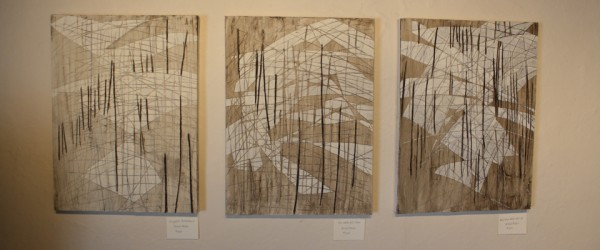 Jeane George Weigel's Paintings in the Anna Karin Gallery