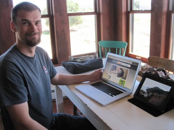Adam Wimsatt in Truchas, NM